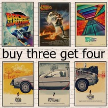 Classic movie Back To The Future poster diy room wall decora