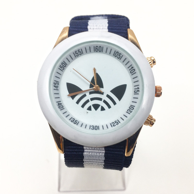 New Luxury AD Sports Brand Men Quartz Watch Fashion Military Outdoor Wrist Watch Nylon Watchband Relogio Masculino Reloj Hombre