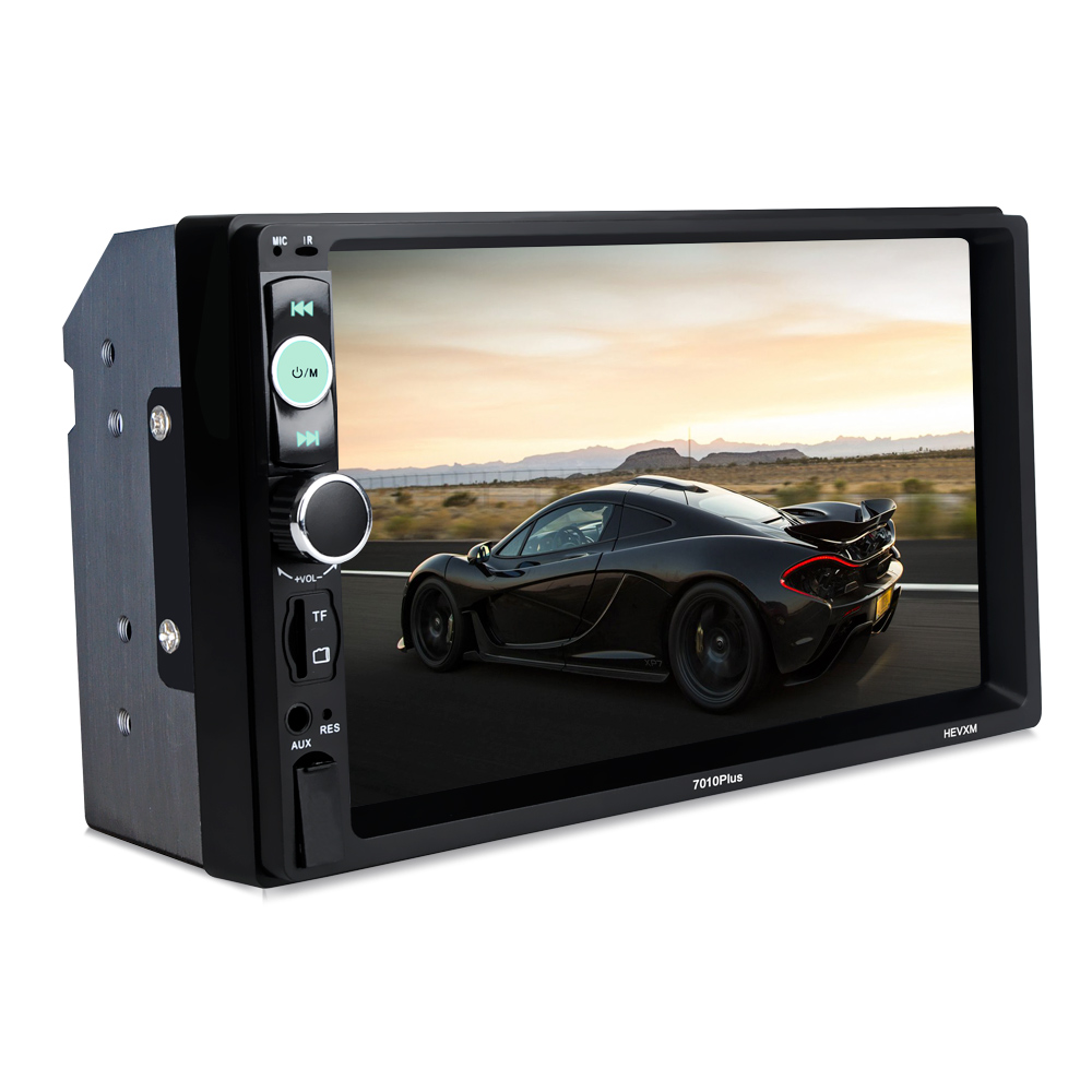 Car <font><b>2</b></font> Din Mp5 Player Wireless Auto Radio Stereo Media Player Universal 7in Touch Screen Player <font><b>7010</b></font> PLUS image