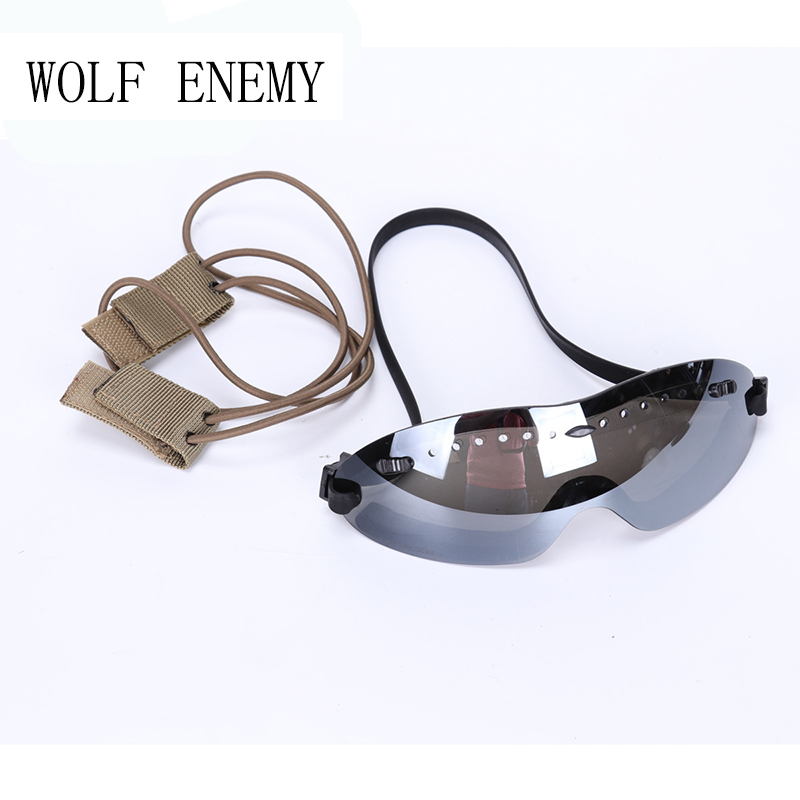 WOLF ENEMY Motorcycle Windproof BOOGIE Regulator Goggle Tactical Combat CS Hunting Men Military Airsoft Wargame Eye Protection