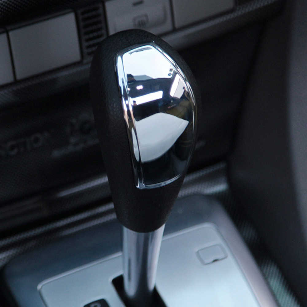 Pegatina de moldeado de estilo de cubierta de pomo de cambio de marchas para Ford Focus 2 2005-2014