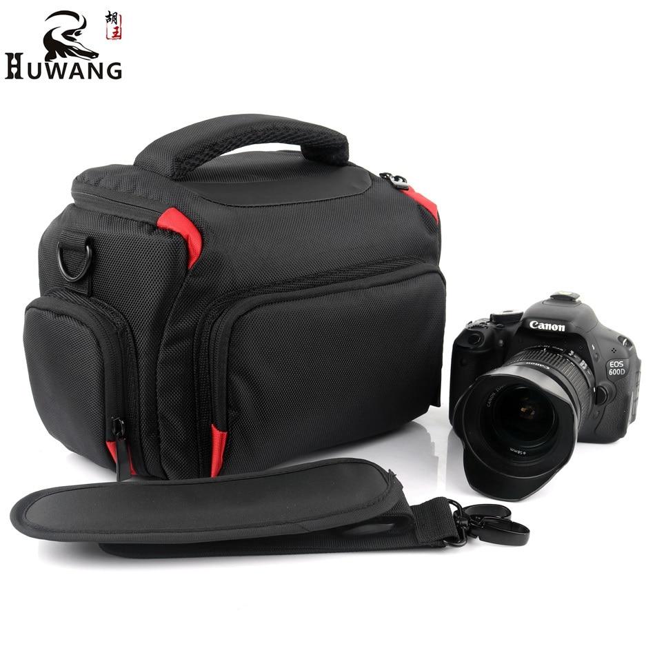 HUWANG 2018 Haute Qualité Caméra Sac Pour Nikon D5300 D3400 D7500 D40 Sony alpha A7 Mark ii iii A9 A77 Nikon Caméra Sac Photo cas