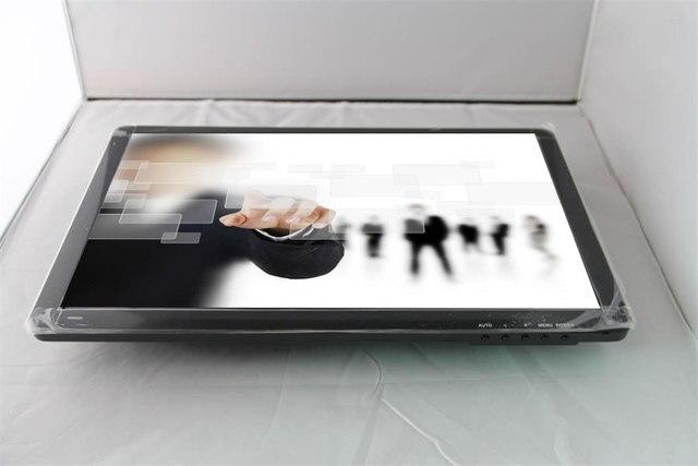 Горячая продажа! 19 дюймов 16:9 ЖК-промышленный монитор с сенсорным экраном с VGA/USB/HDMI/AV/BNC