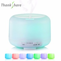 Free Ship NEW Color Changing Light Warm Light Ultrasonic Mini Cool Mist Aroma Diffuser Car Humidifier