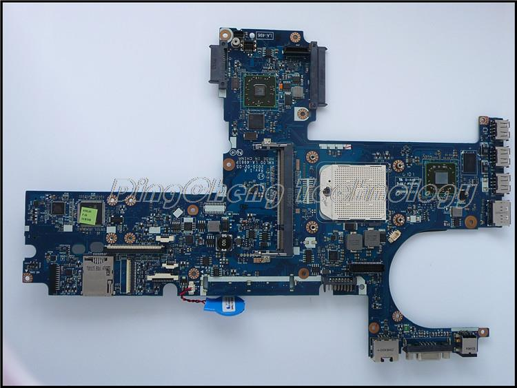 SHELI laptop Motherboard For hp 6545B 583257-001 for AMD cpu with integrated graphics card 100% tested 45 days warranty for hp cq62 g62 610161 001 laptop motherboard for amd cpu with ati hd5430 ddr3 integrated graphics card