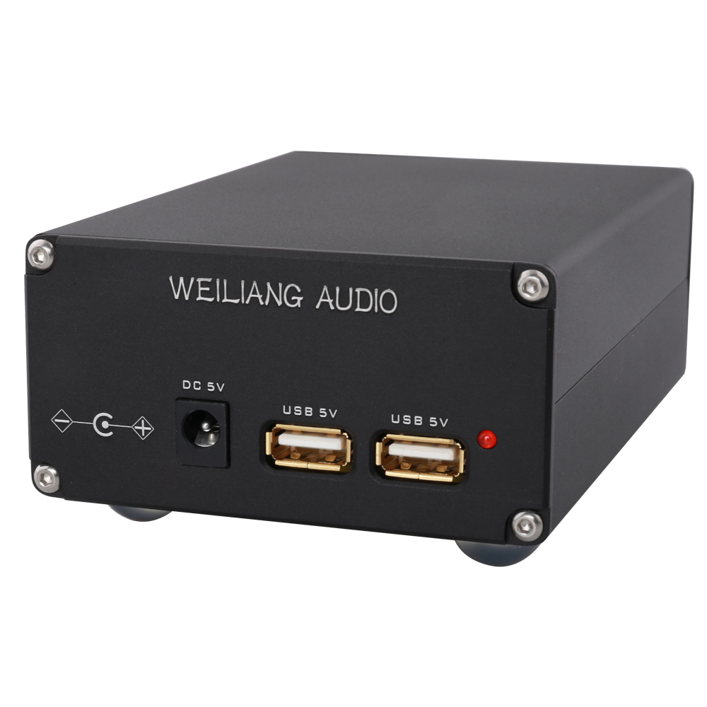HIFI College HC306 TALEMA 5V USB 15W DC Dual Output Fever Linear Power Supply DC Regulator