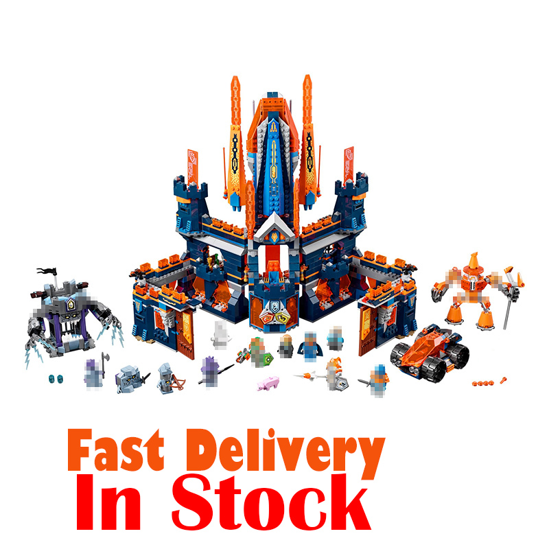 LEPIN 14037 1295PCS NEXUS Knights Knighton Castle Anime action Figures Building Blocks Bricks DIY Toys For gifts legoINGly 70357 lepin 14004 knights beast master chaos chariot building bricks blocks set kids toys compatible 70314 nexus knights 334pcs set