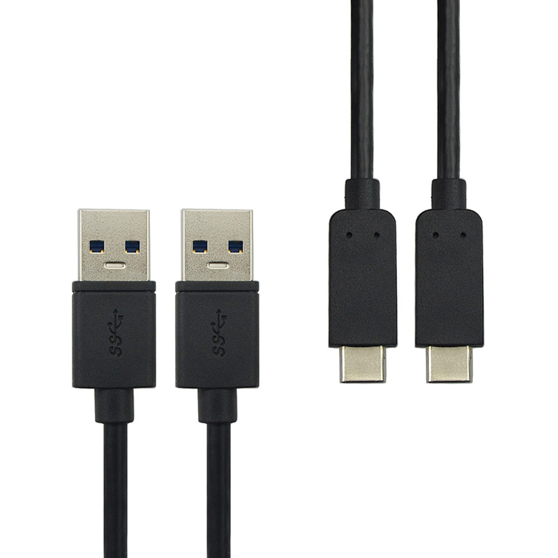 2 Pieces USB 3.1 Type C Cable,USB Type C to USB 3.0 A Male s