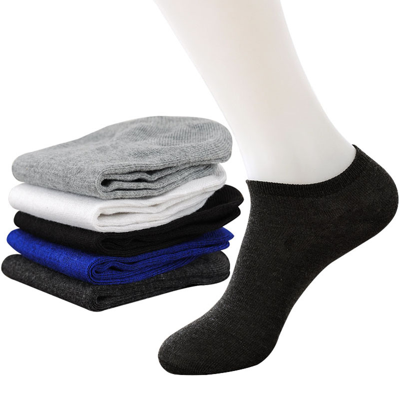 20Pcs=10Pair Solid Mesh Mens Socks Invisible Ankle Socks Men Summer Breathable Thin Boat Socks Size EUR 38-43 cheap price Meias