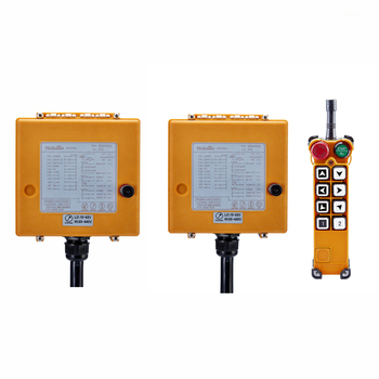 8 Channels F26-A1 (1 Transmitter 2 Receivers) Industrial Wireless Crane Remote Control single speed Control