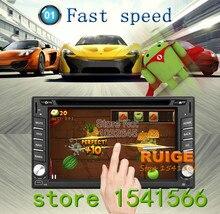 2 din android 5.1 qual core 800*480 car stereo car audio radio de coche del coche unidad principal de navegación gps automotivo dvd 3g wifi