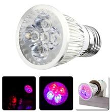 10 X E27 10W  85-265V LED Hydroponic Plant Grow Growth Light Lamp Bulb Lighting For Flowers Vegetables Aquarium
