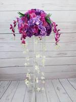 2016 Свадебные Таблица Центральным Бал цветов Свадебные украшения Искусственный Арка цветы партия Home фон декоративные Flore