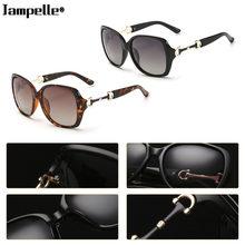 06268bb01b38b Mulheres Óculos De Sol de luxo Do Vintage Design Simples Retro Eyewear  Óculos Polarizados UV400 óculos de Proteção Óculos de Seg.