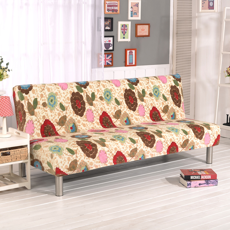 Cheap Sofa Cover: Stretch Sofa Cover Elastic Couch Cover Armless Furniture