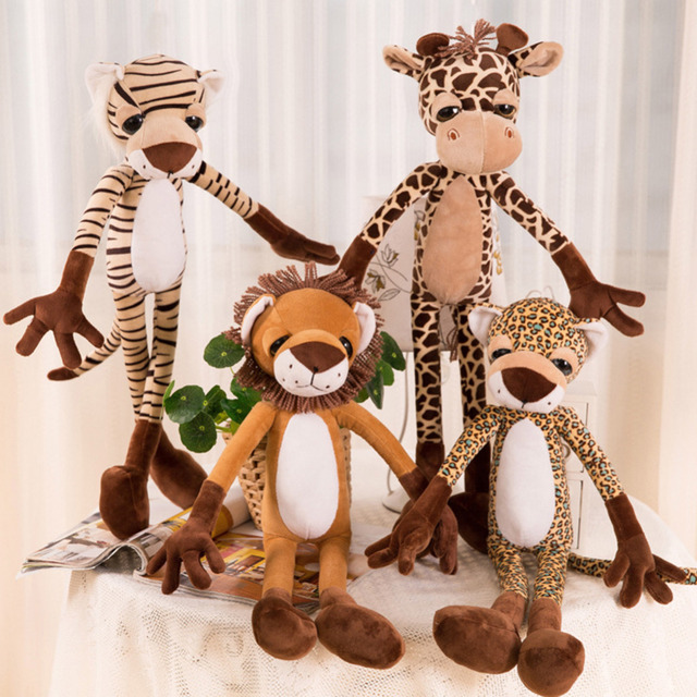 Innovative Jungle Animals Recognition Doll Plush Toy Stuffed Cartoon ...