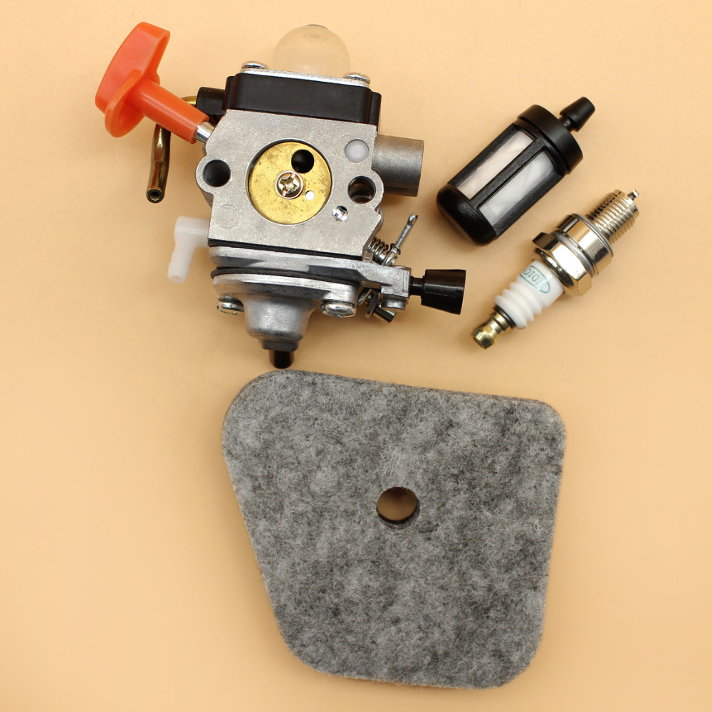 Carburetor Carb Air Fuel Filter Kit For STIHL FS87 FS90 FS100 R FS110 R FS130 R HT100 HL100K FC95 FC90 Trimmer ZAMA C1Q-S174
