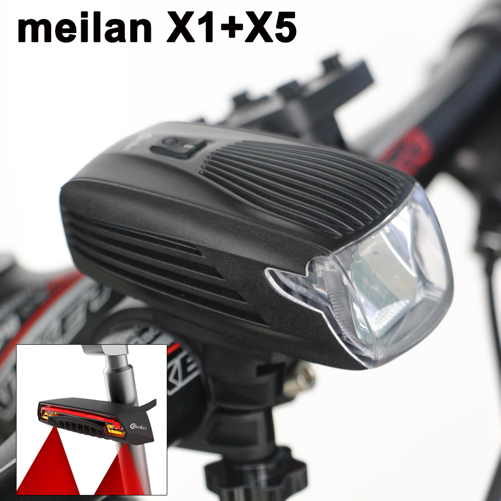 Bicycle Headlight Portable Lights Flashlight Bike light Led Front Light X5 Tail Lamp LED Smart Bike lights USB charge bicycle light waterproof multi function 2 t6 front light usb charging bicycle lamp bike headlight light flashlight torch