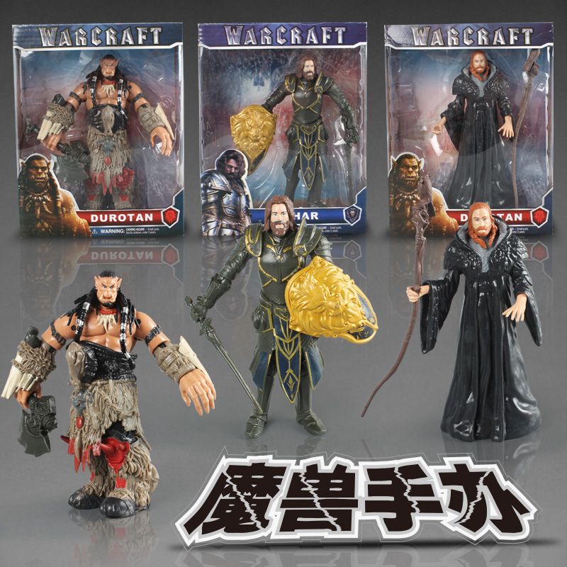 Periphery Hand Do Blizzard World Of Warcraft CharacterW0w Durotan Medivh Action Boxed Goods CollectibleFigurinesCollectibles