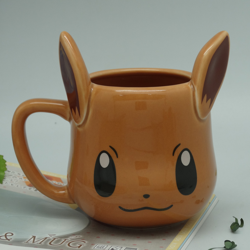 Anime Game Pocket Monsters Pikachu Coffee Mug Creative