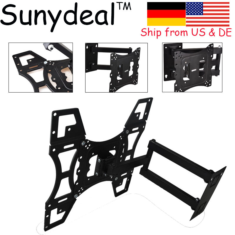 Universal LCD LED TV Wall Mount Tilt Swivel Plasma TV Wall Holder TV Wall Bracket 30-60'' Max to 400mm x 400mm TV Stand tv stand living room furniture monitor lcd led hd tv wall mount bracket fit sostenedor de television en pared 14 42