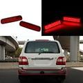 36 LED Para Toyota Land Cruiser 100/Cygnus LX470 Carro LEVOU Choques traseiro Luz Refletor LED Parar Brake Cauda Estacionamento Aviso lâmpada