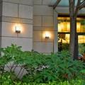 Инфракрасный датчик движения наружный водонепроницаемый настенный светильник Индукционная передняя дверь настенный светильник светодио...