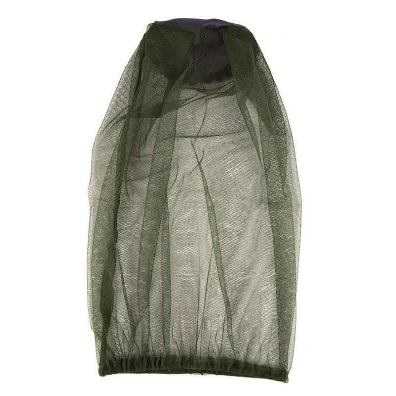 Солнцезащитный козырек, защита для лица, шапка, противомоскитная, 1 шт., летняя, для путешествий, москитная сетка, ткань