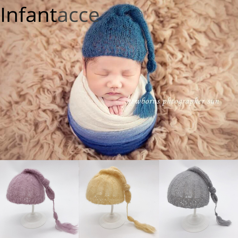 newborn photography props hat accessories baby hats beanie cap new born bonnet baby boy hat props for photography photo shoot