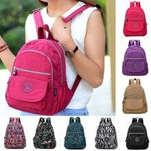 Противоугонная сумка для женщин и мужчин, Модный Большой Вместительный нейлоновый рюкзак, водонепроницаемые дорожные сумки, школьный ранец, школьная сумка через плечо