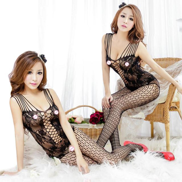 Sexy Lingerie For Women Sexy Underwear Sexy Bodystocking Plus Size Lenceria Erotica Mujer Sexi Teddy Open Crotch fashion