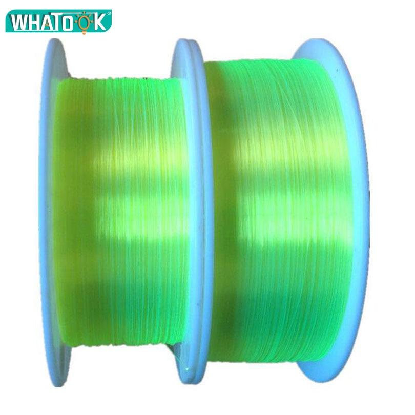1 m LED de fibra óptica de 0,5mm 0,75mm 1,0mm 1,5mm 2,0 MM arma cerrar fluorescente de Cable óptico PMMA Neno luces Decoración