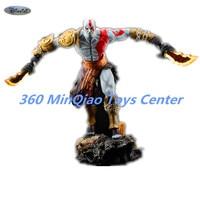 [Смолы Made] 1/4 масштаб God Of War 3 Кратос Смолы Mantel болельщики фигурку Коллекционная модель игрушки 35 см коробку WU785