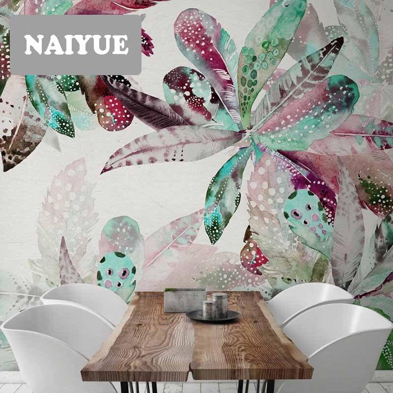 Pegatinas de pared tridimensionales 3D creativo clorofito dormitorio sala de estar pasillo de entrada pared pegatinas decoración de la pared - 4