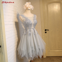 Sexy Beautiful Short Lace Cocktail Dresses Womens Prom Coctail Dress for Party Homecoming Dresses jurk vestidos de coctel renda