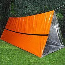 Открытый 210*130 см аварийное одеяло для кемпинга серебряное тепловое одеяло Портативные наборы для выживания Спасательные изоляционные занавески спасательные