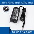 Для ноутбука HP 4311S 4230S 4415S 4330S 4410S адаптер переменного тока DC зарядное устройство разъем порт кабель 18.5в 3.5A