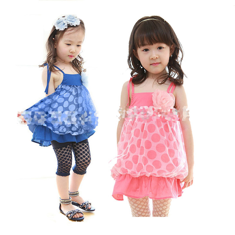 94b21ec20 ... Summer Girl Baby Clothing Set Fashion Polka Dot Lace Top+Hollow Shorts  2pcs Set Brand Girl Kid Princess Clothes Set-in Clothing Sets from Mother &  Kids