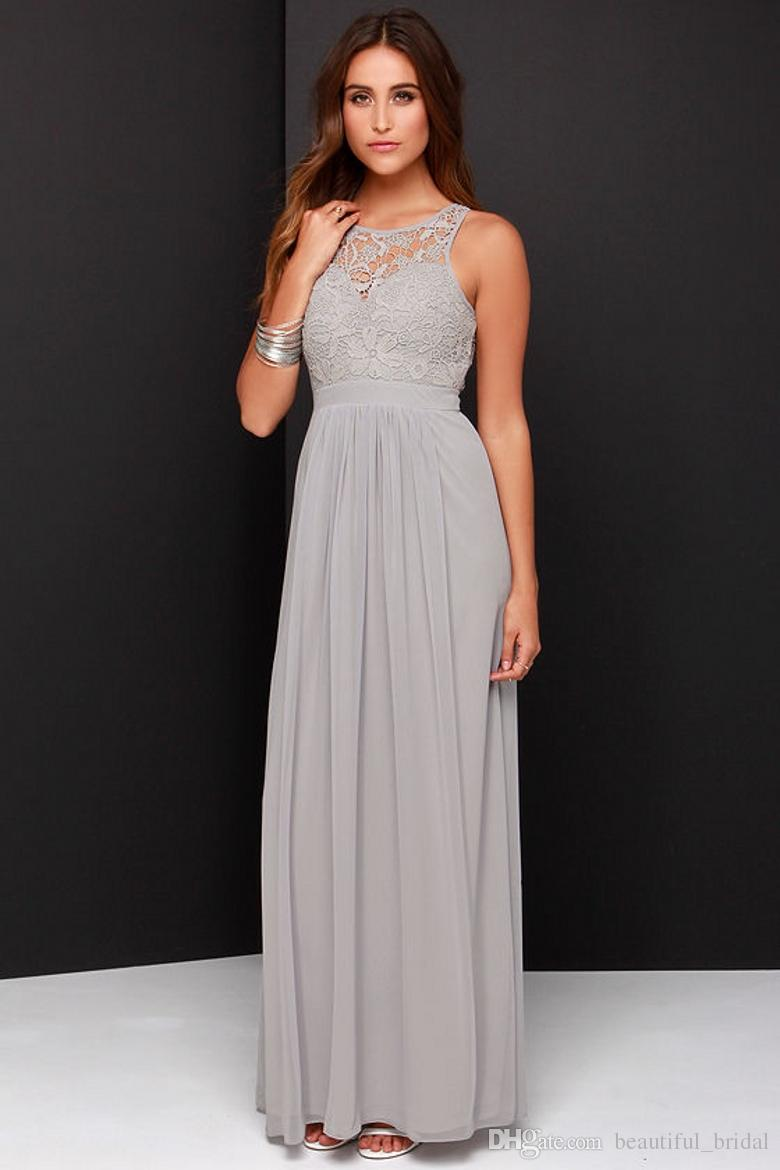 silver or gray mother of the bride dresses gray dresses for wedding TERI JON