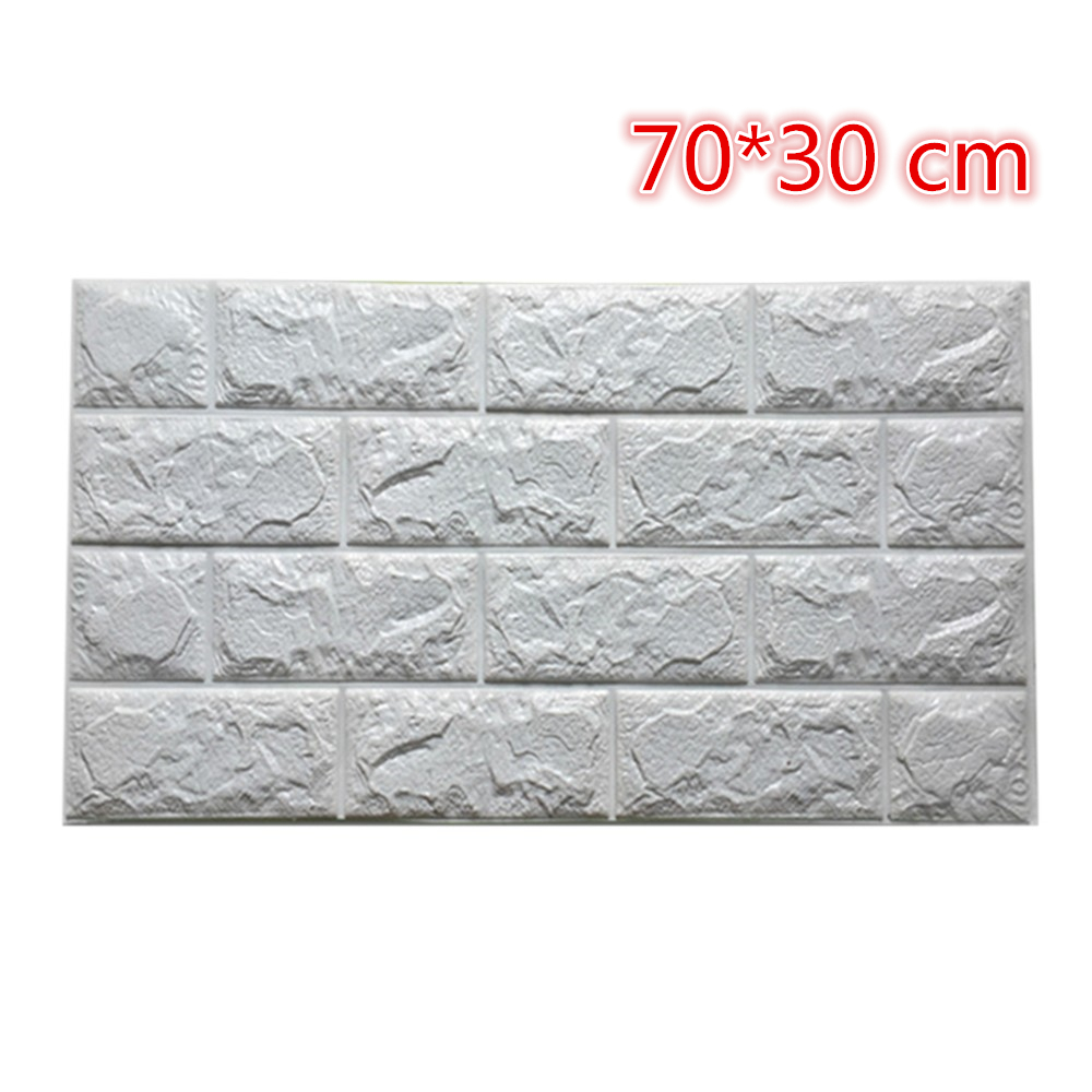 2 size pe foam 3d wall stickers diy decorative bedroom for Room decor 3d foam stickers