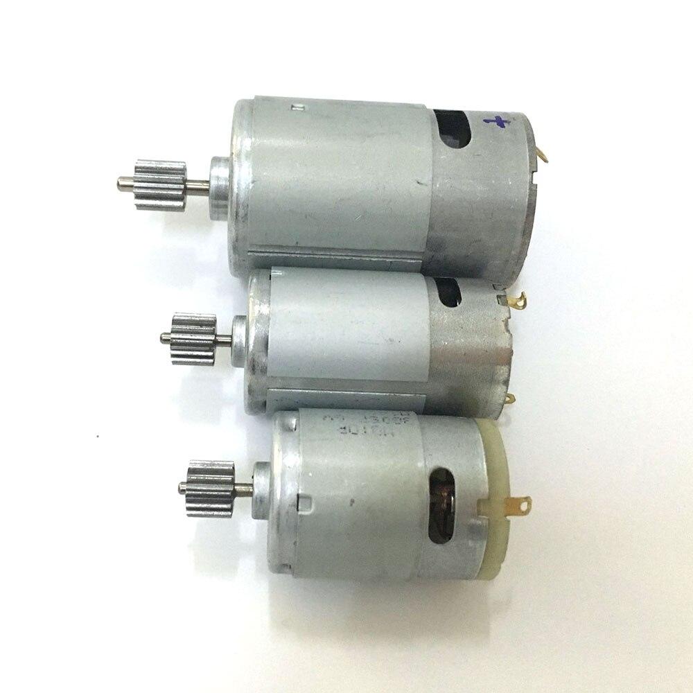 Новый редуктор постоянного тока 6 в 12 В RS380 390 550 мотор ToyDIY для автомобиля, высокоскоростной двигатель для мотоцикла, электромобиль