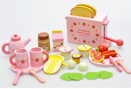 ФОТО Montessori Kids Toy Baby Toys Wooden Pretend Toys Kitchen Bread Maker Learning Educational Preschool Training Brinquedos Jguets