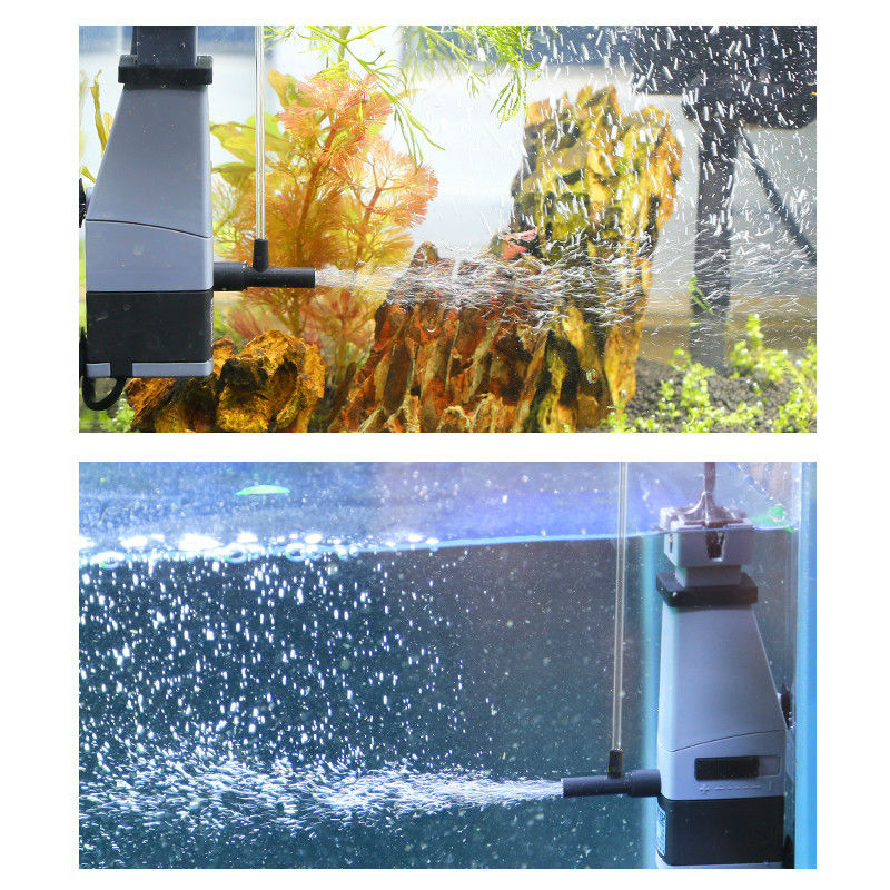 How intelligent film processor oil filter pump filter aquarium fish tank dedicated voltage 220V power 3W flow 300L / H fish oil в аптеке