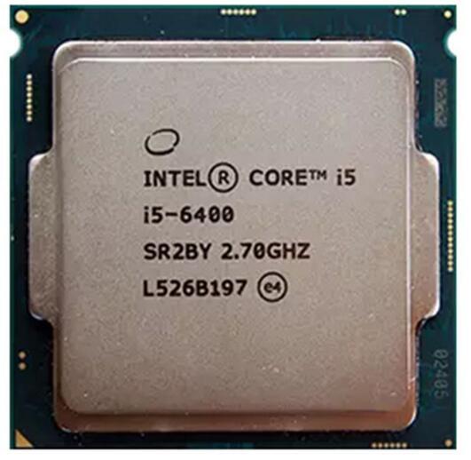 Новый Оригинальный Процессор Intel i5 6400 14nm Quad Core 2.7 ГГц LGA 1151 Кэш TDP 65 Вт 6 МБ Рабочего Стола ПРОЦЕССОР