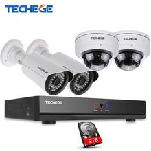 4CH 1080 P POE 48 V Réel NVR kit 1080 P HD Anti-Vandalisme caméra Dôme 2.0MP POE IP Caméra IR 20 M POE CCTV Caméra Système Plug And jouer