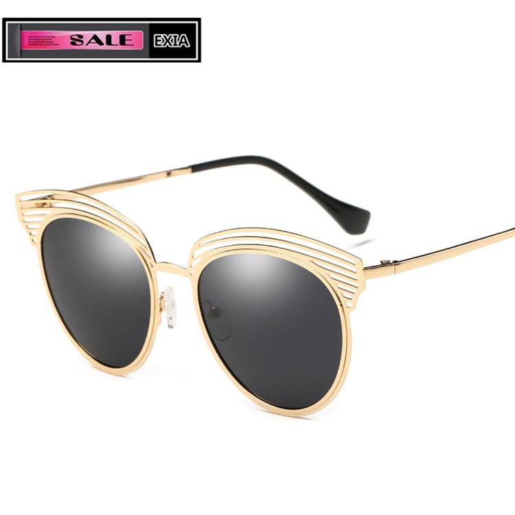 Óculos de Sol das mulheres Óculos Polarizados Óculos de Lentes Escuras Dos  Motoristas UVA Óculos EXIA ÓPTICO KD-0873 Series 869713078b