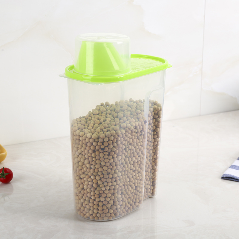 Container Tank-Storage Plastic Kitchen OK Food 1PC 0346 Sorting Sealed-Crisper-Grains