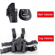 Tactical Gun Holster Army Military Hunting Combat Holster Airsoft Pistol Belt Holster / Leg Holster For Glock 17 19 22 23 31 32