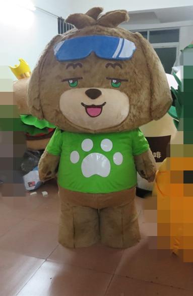 Free shipping lovely dog adult mascot cartoon costume