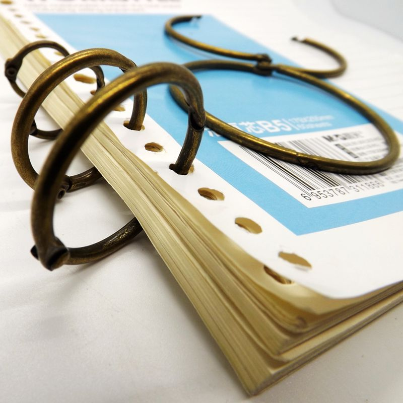 Hot Sales Curtain Ring  Book Binder Hanging Ring  Album Scrapbook Craft Photo Binding Factory Direct